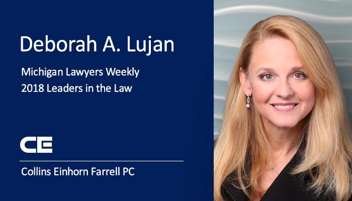 Attorney Deborah A. Lujan, Class of 2018 Leaders in the Law